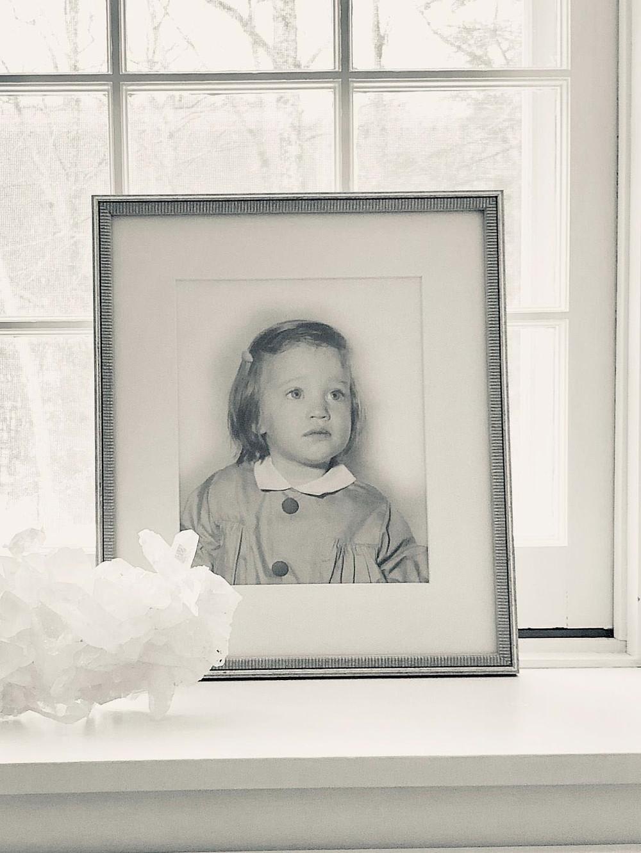 Anne Novak as a child.