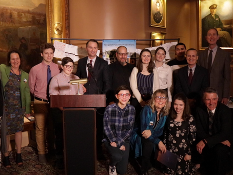 Listen Up Launches with State House Press Conference!