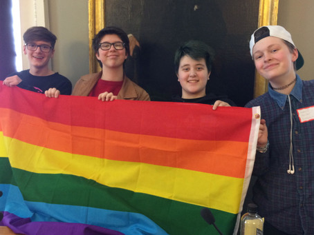 Listening to LGBTQ Youth at the State House