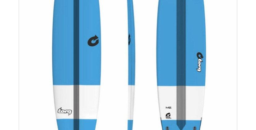 """7'6"""" torq m2 technicolor bleu"""