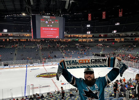 Teal City Crew #ForeverTeal Scarf