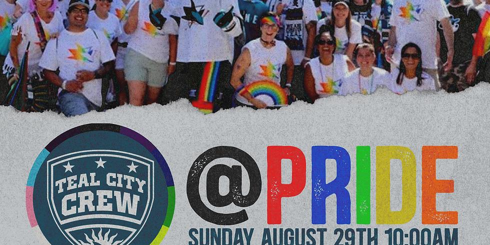 Pride W/ TCC & San Jose Sharks