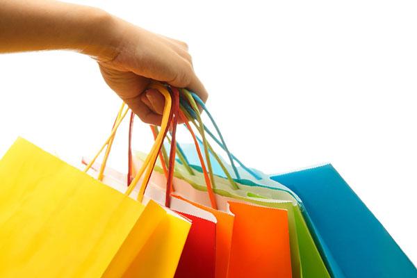 Inflexyon Mano con Bolsas de compras