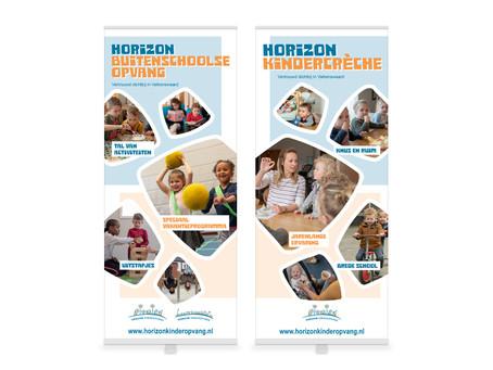 """Horizon Kinderopvang: """"Vernieuwing marketingcommunicatiemiddelen."""""""