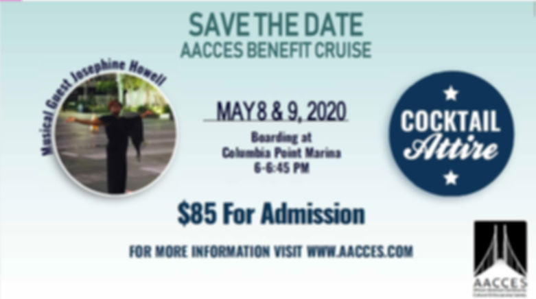 SAVE THE DATE 2020 AACCES BENEFIT CRUISE