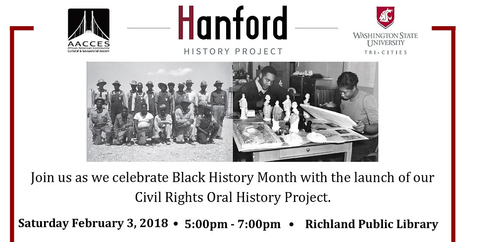 Hanford History Project Launch! (1)