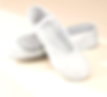 White Leather Ballet Shoes - A1 Dnace