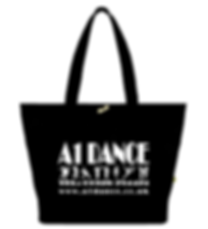 A1 Dance Tote Bag