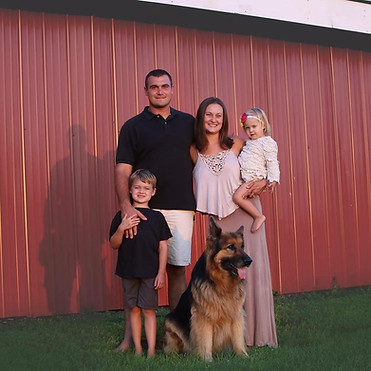 Ryan and Kim Kocis - new owners of the farm