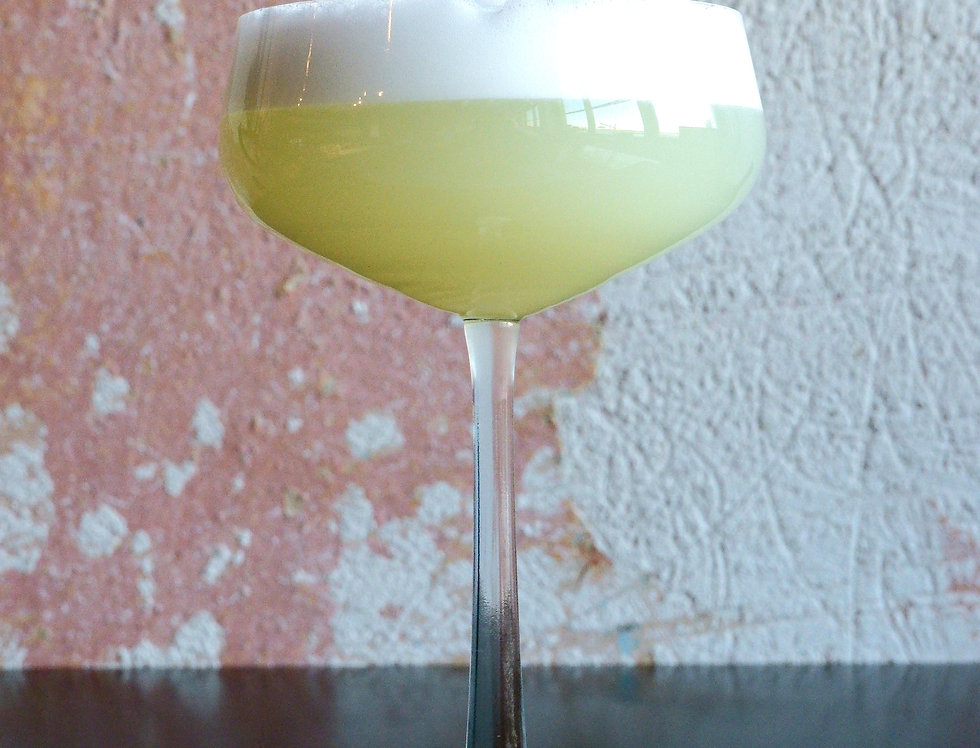 Gin Elderflower Sour