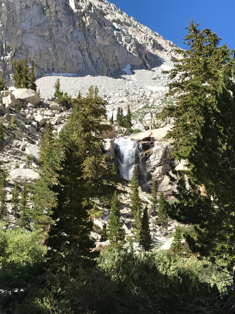 Mt Whitney Waterfall
