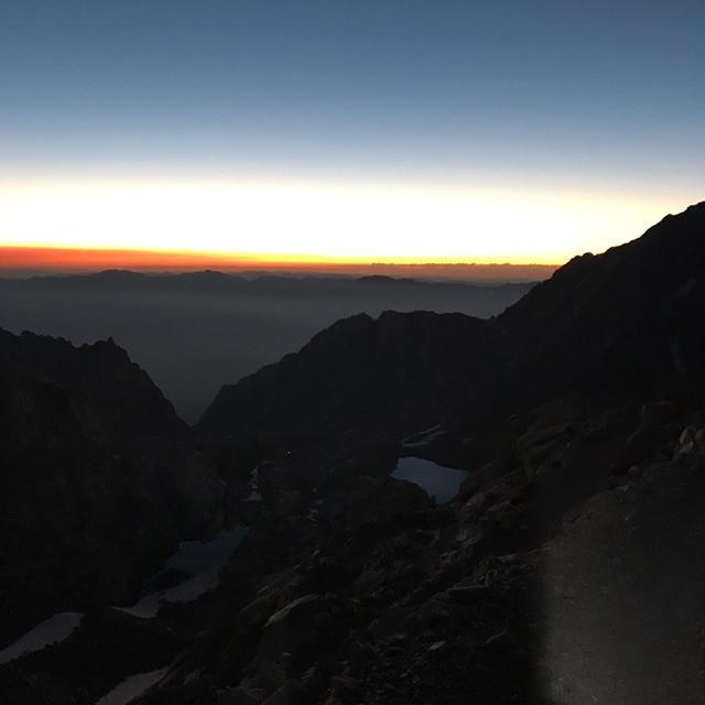 Mt Whitney Sunrise