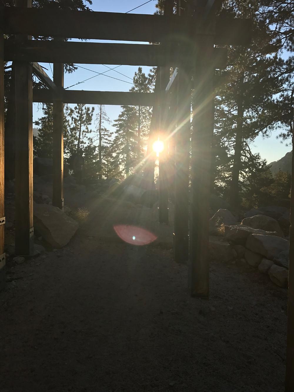 Mt Whitney Trail Sunrise
