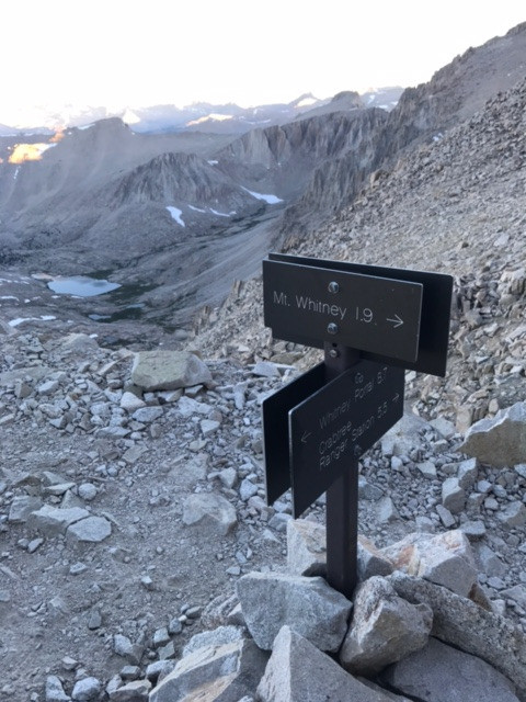 Mt Whitney Summit Climb