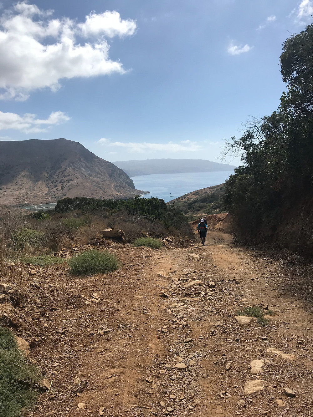 Trans Catalina Trail from Cat Harbor