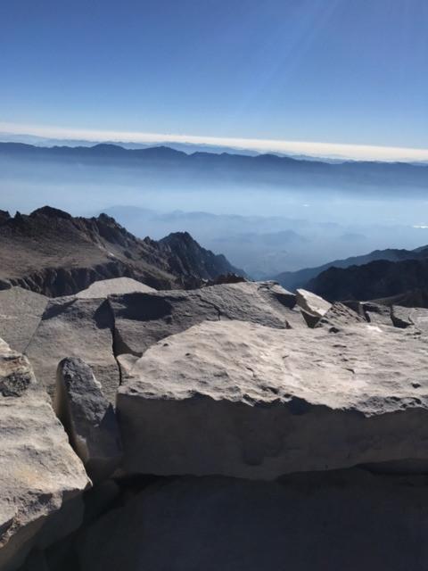 Mt Whitney Summit Pic