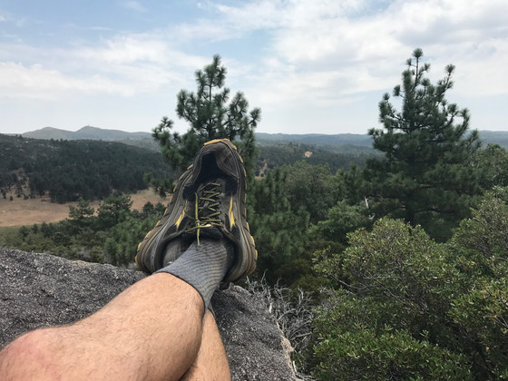 Hiking Boots vs Trail Running Shoes vs...Vans?