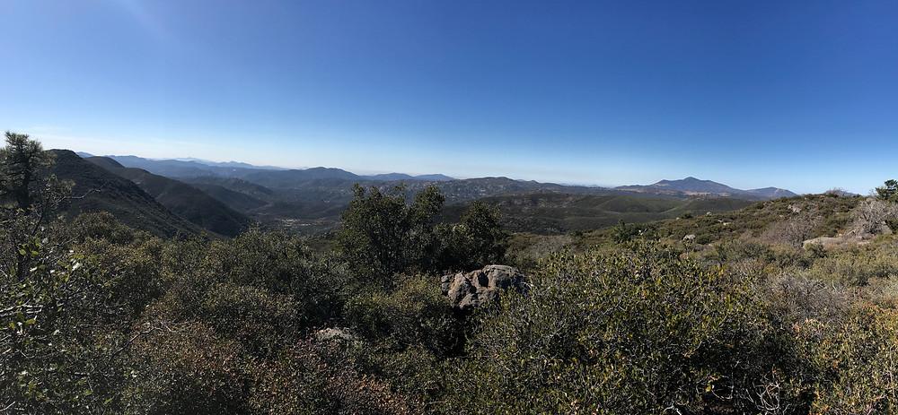 Mt Laguna Sunset Trail Mountain View