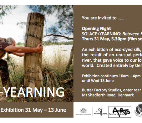 Up and Coming Exhibition: Solace and Yearning: Between Kwoorabup and Denmark.