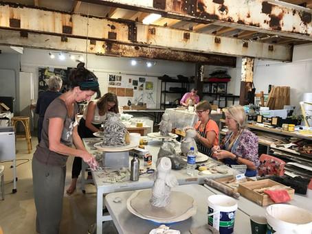 Owl workshop with Robyn Lees