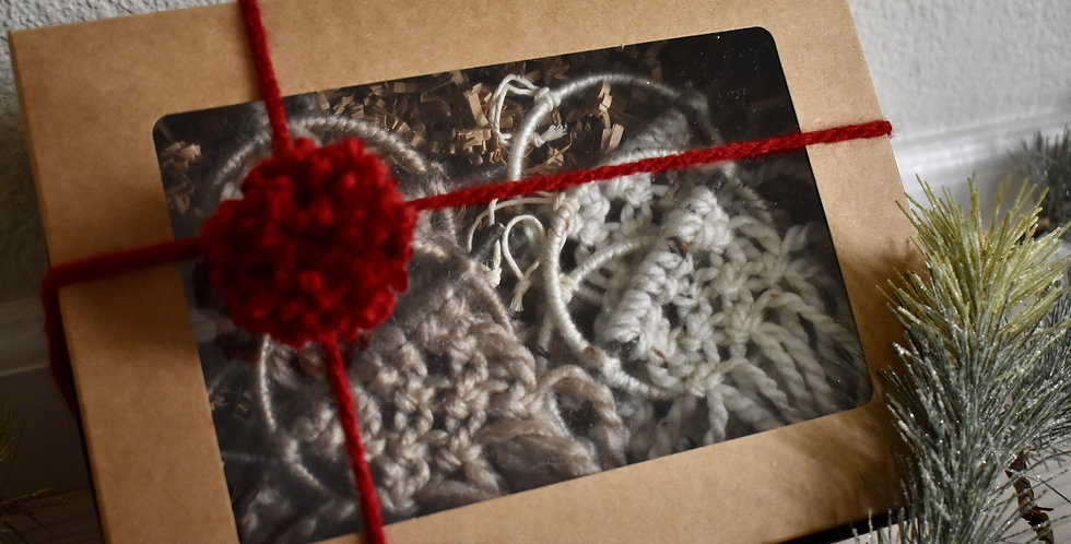 Macrame Ornament Gift Set
