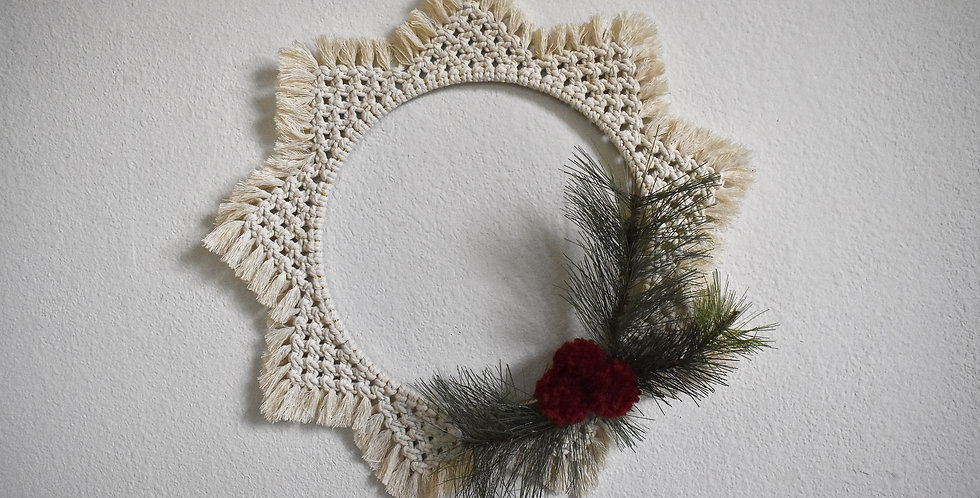 Holiday Star Wreath