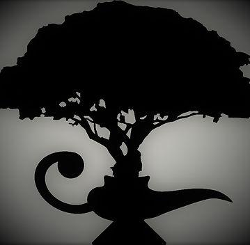 Family tree in genie lamp
