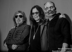 Geezer Butler, Ozzy Osbourne, Corey Taylor