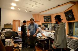 Krooked Treez in studio