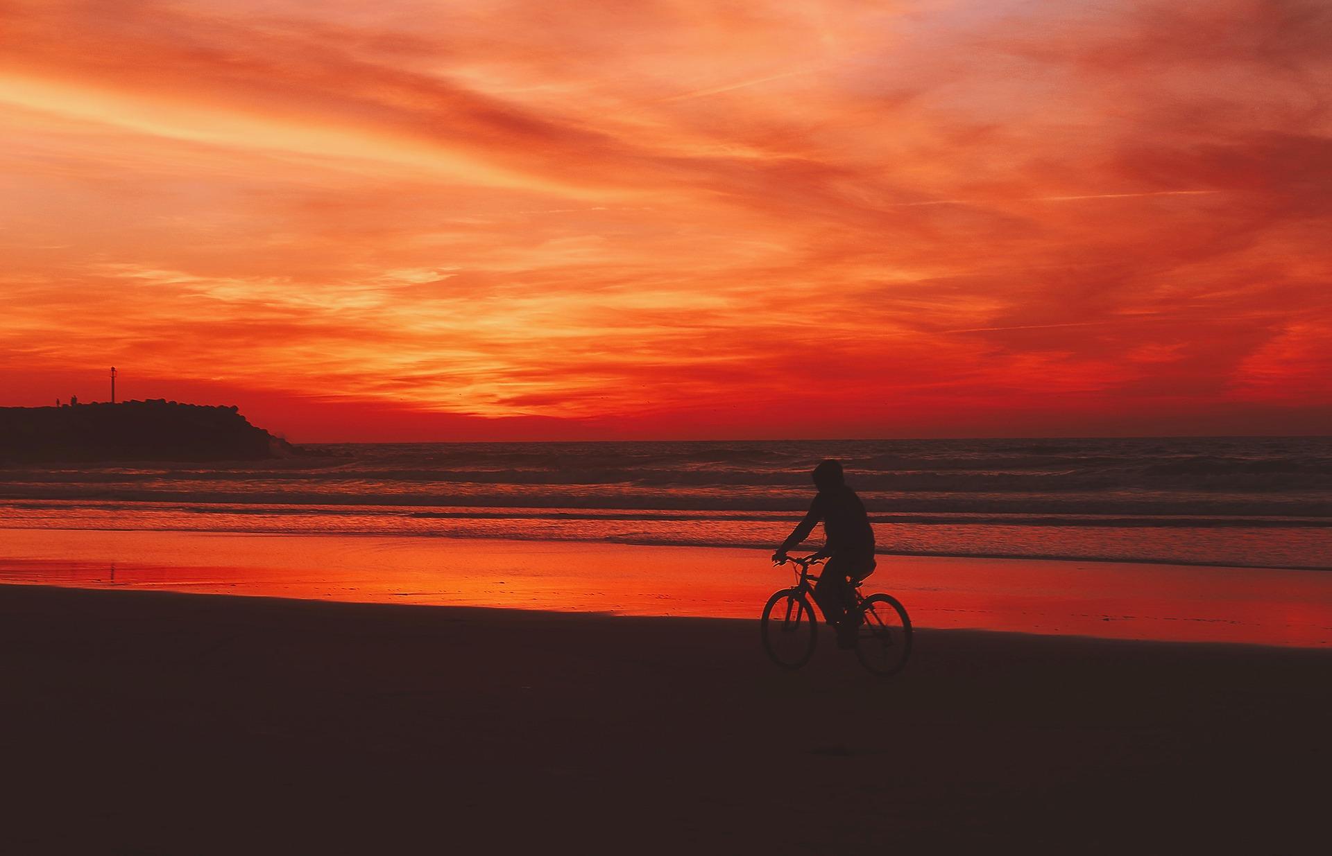 Bici en Playa