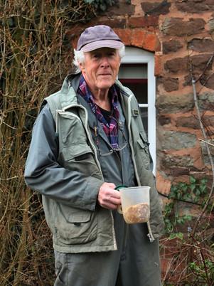 Brian, the birdman of Stockton!