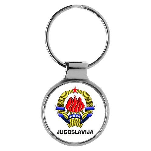 Jugoslawien 3D Schlüsselanhänger Key Chain Ring A-9554