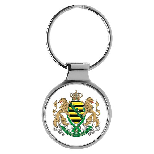 Schlüsselanhänger Königreich Sachsen Wappen A-90279
