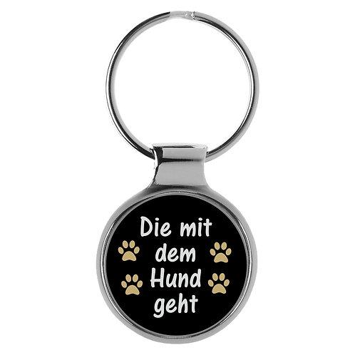 Schlüsselanhänger Hund Geschenk Frauchen A-90194