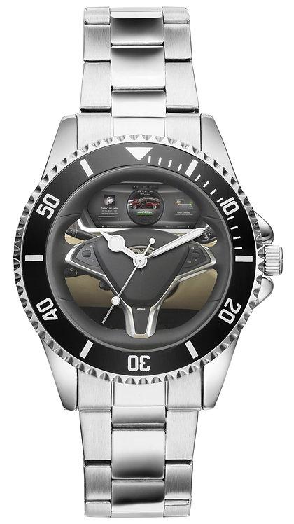 Tesla X Cockpit Uhr 20939