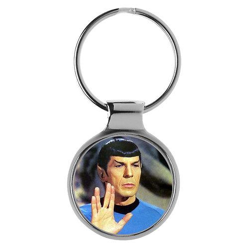 Schlüsselanhänger Commander Spock Star Trek Raumschiff A-90276