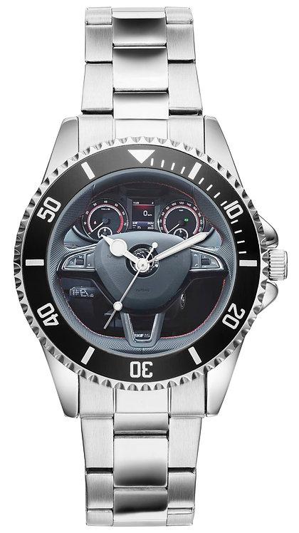 Skoda Oktavia RS Cockpit Uhr 20961