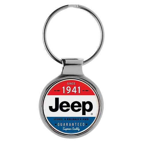 Jeep Retro 3D Schlüsselanhänger Key Chain Ring A-90056