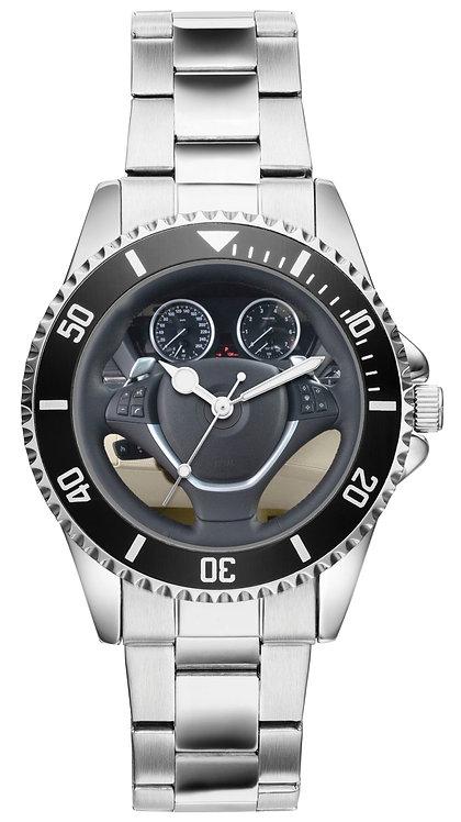 X6 Tacho Cockpit Uhr für BMW Fans 20846