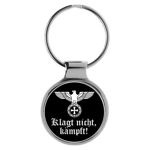 Schlüsselanhänger Klagt nicht kämpft Reichsadler Wehrmacht A-90173