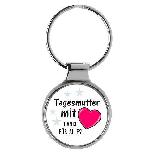 Schlüsselanhänger Tagesmutter mit Herz Geschenk A-90192