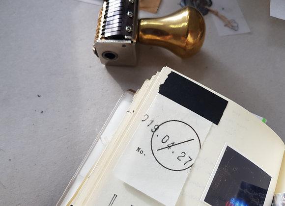 Brass Date Stamp (big)