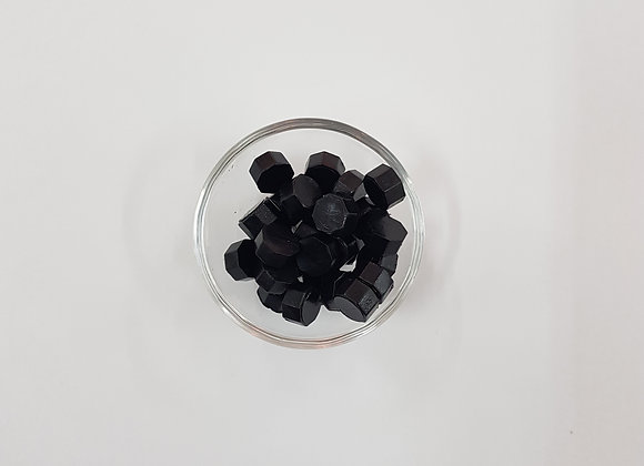 Wax beads :Black