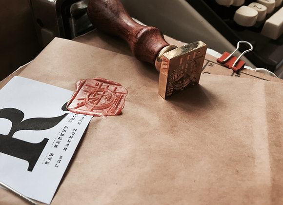 Square Wax Seal (custom)