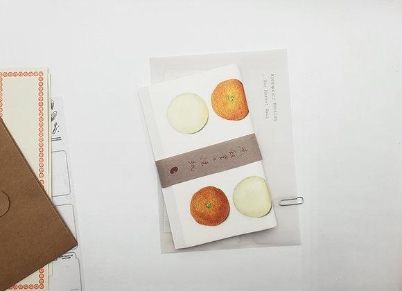 Classiky Kaishi Washi Paper : Mandarin Orange