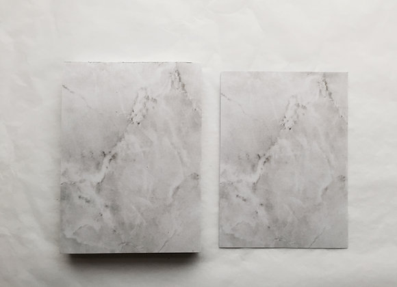 (Light) Grey Marble Paper Pad