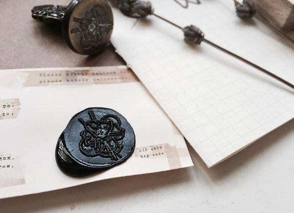 No.1 Floral Seal : Mini Handle