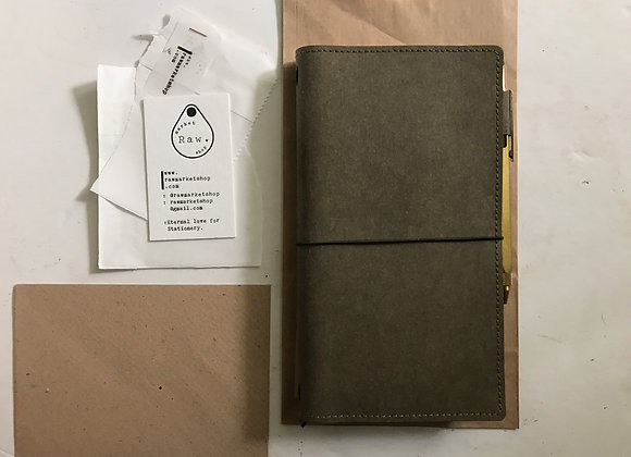 Kraft-tex Raw Note: Olive Green | Foret