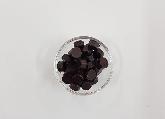Wax beads : Brown