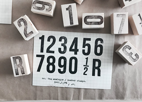 no. 184 analogue series: large numbers